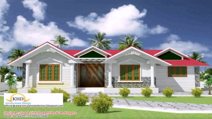 Great House Front Elevation Kerala Style - Youtube Kerala House Front Elevation Designs Image