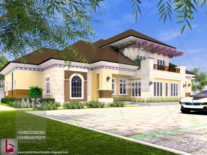 Great Mr. Spice 7 Bedroom Bungalow 3 Bedroom Bungalow With Pent House In Nigeria Picture