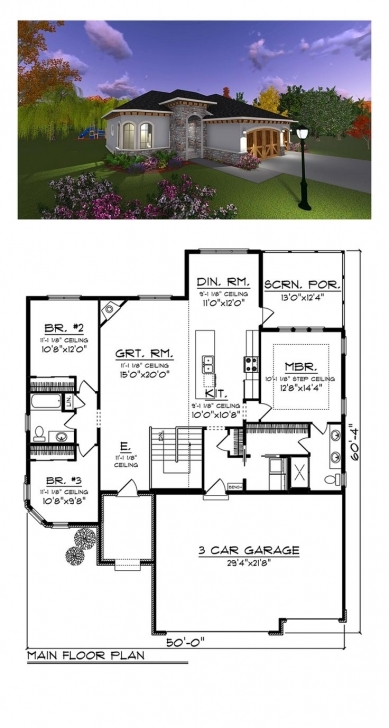 Image of 48 Best Italian House Plans Images On Pinterest | Italian Houses Simple 2 Floor 4Bed Room Full House Plan With Its Elevation Photo