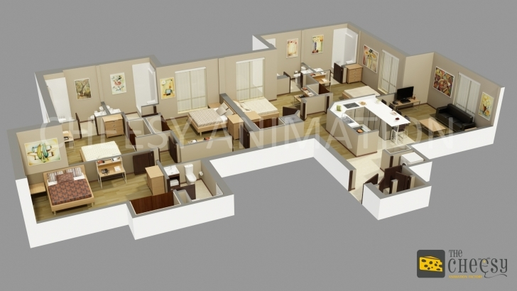Image of Bright Inspiration House Plans Inside 13 And Outside Fashionable 1 3D Images Of House Plans Inside And Outside Pic