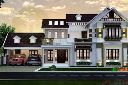 Kerala Home Design Double Floor