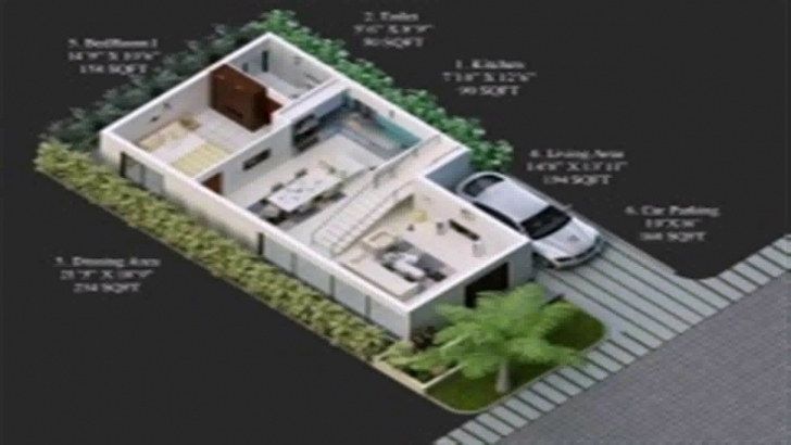 Image of Floor Plans 30 X 50 - Youtube होम डिजाइन Plat 30X50 Single Frool Image