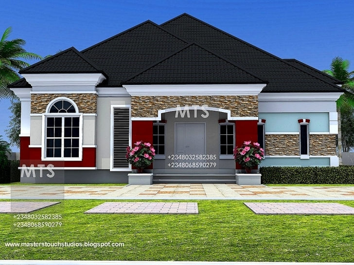 Image of Images Of 3 Bedroom Bungalow In Design Nigeria | Home Design Gallery Bungalow Photos In Nigeria Photo