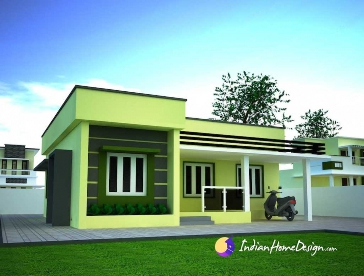 Image of Incredible Simple House Roofing Designs And Flat Roof Design Home Flat Roofed Houses Pic