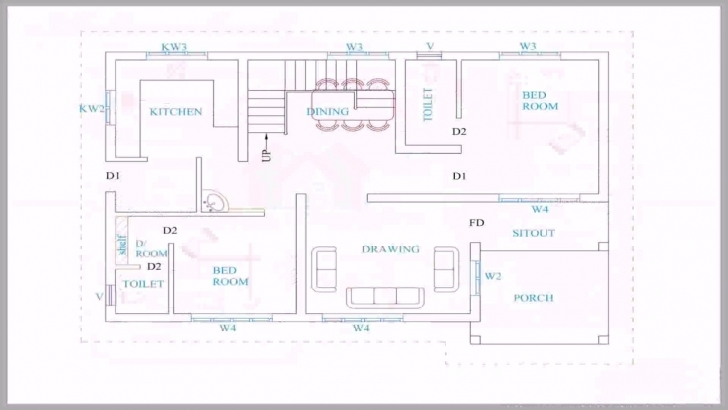 Image of Kerala Style House Plans Below 1500 Sq Feet - Youtube Kerala House Planning Image