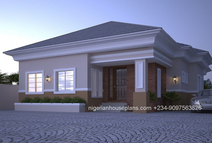 Image of Nigeria House Plan Design Styles Beautiful 4 Bedroom Bungalow Ref Nigeria House Plans Photo