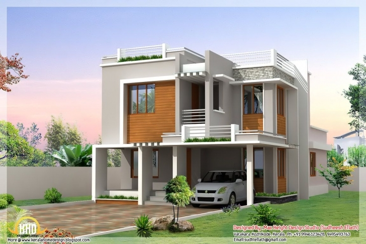 Image of Small Modern Homes | Images Of Different Indian House Designs Home Indian House Picture Pic