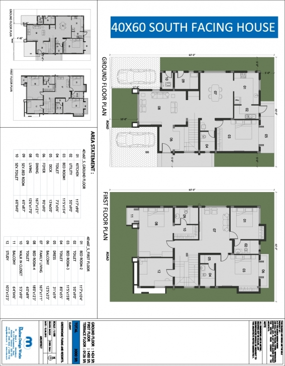 Incredible 40X60 House Plans Sumptuous Design Ideas 15 40 X 60 North Facing 16 X 50 House Floor Plans Photo