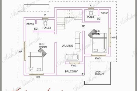 800 Sq Ft House Plans Kerala Style