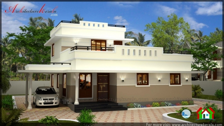 Incredible Beautiful 3 Bedroom House Plans, 3 Bedroom Plan In Kerala, 3 Bedroom Half Plot Building Plan Image