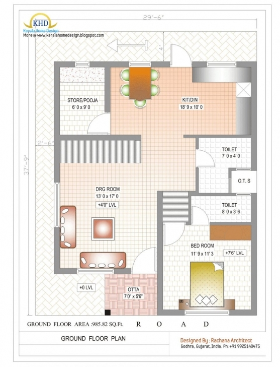 Incredible Duplex House Plans 1000 Sq Ft India Best Of Uncategorized 4 Bedroom 1000 Sq Ft Duplex House Plans Indian Style Photo