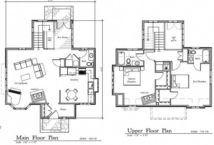 Incredible Fairy Tale Cottage House Plans - Tiny House Princess Residential Floor Plan Bungalow Picture