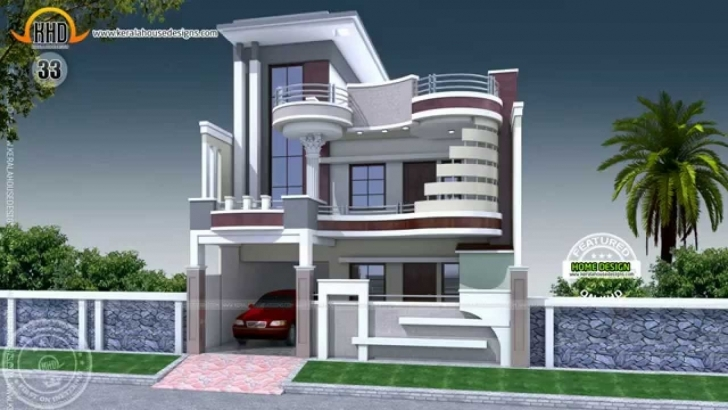Incredible House Designs Of July 2014 - Youtube Gharelevation One Manzzile Image