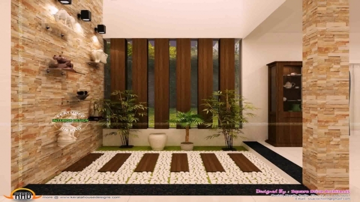 Incredible Kerala Style Courtyard House - Youtube Pergola Design Inside House In Kerala Image