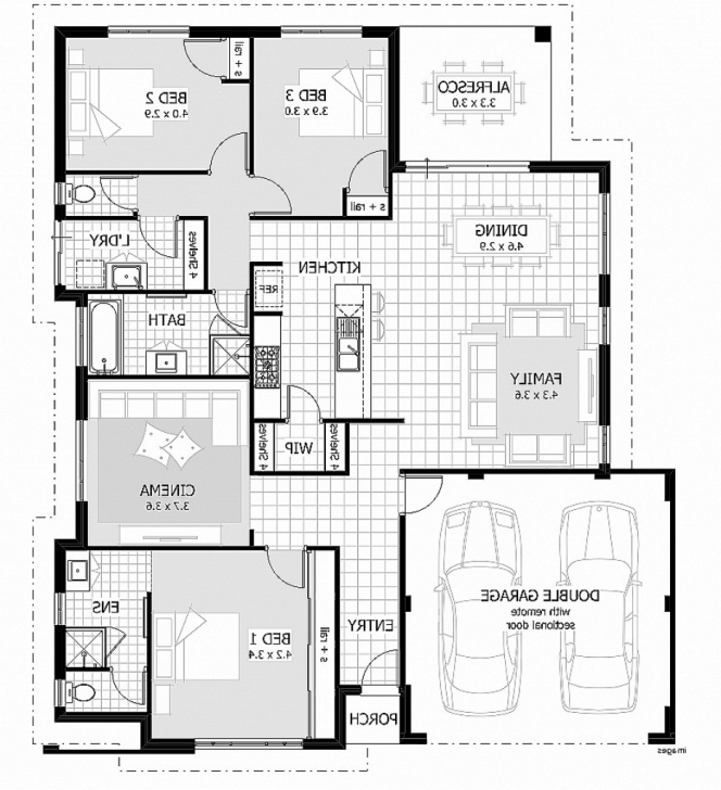 Incredible Modern 3 Bedroom House Plans South Africa House Plan Elegant South Modern 3 Bedroom House Plans South Africa Photo