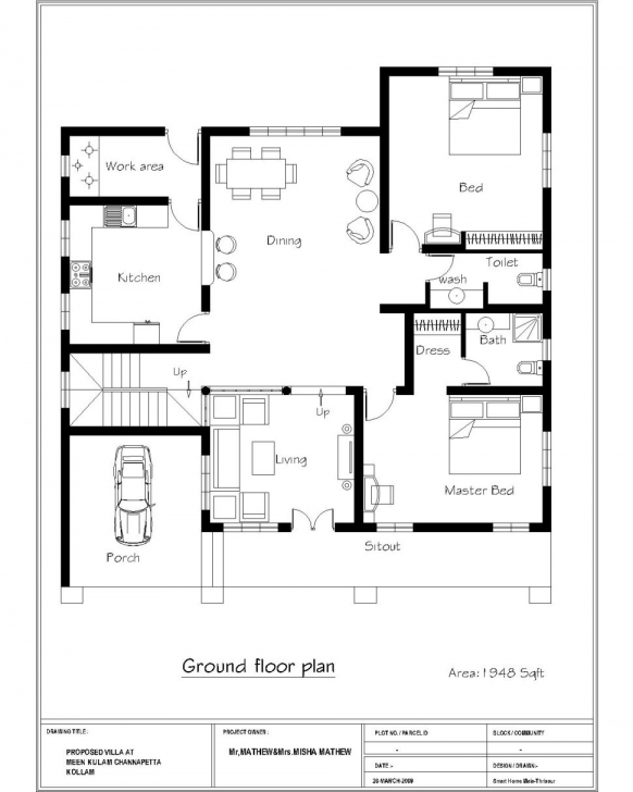 Incredible New 3 Bedroom House Plans Indian Style – Secrets Of A Model Home Modern Style 3 Bedroom Building Plans Pic