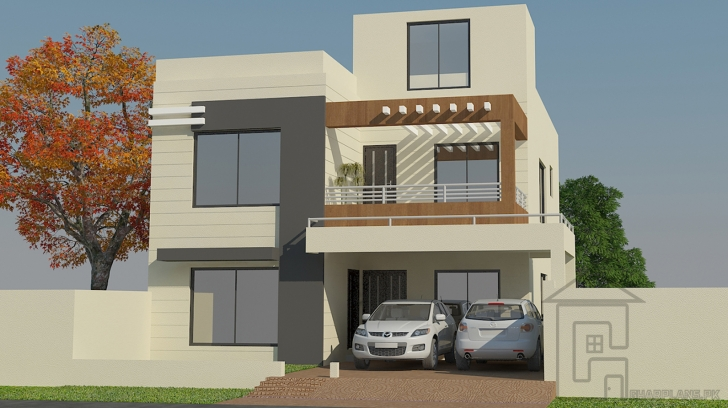 Incredible Pakistani House Designs (10 Marla) (35 Ft Front And 65 Ft Depth) And Pakistani House Front Elevation Designs Image