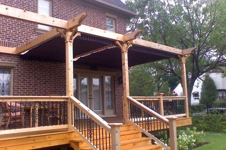 Incredible Pergola Design: Attached, Freestanding Or Hybrid Pergola Designs Attached To House Image