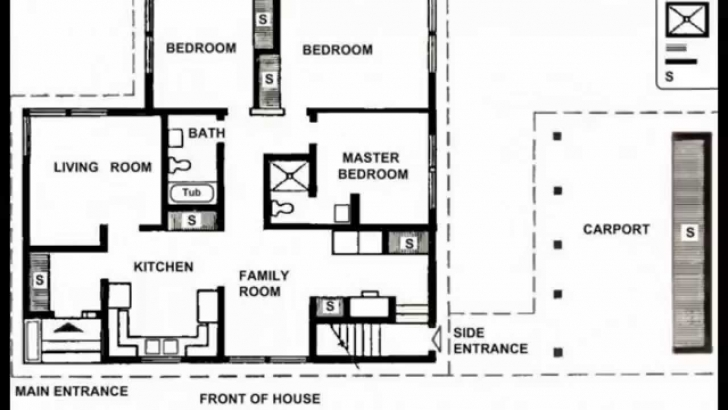 Incredible Small House Plans | Small House Plans Modern | Small House Plans Free House Plans Picture