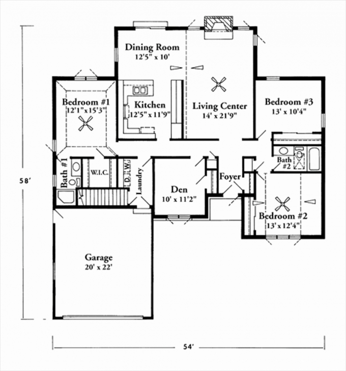Inspirational 1500 Sq Ft House Plans With Garage Lovely 2 Story 1600 Square Foot 1500 Sq Ft House Plans 2 Story Image