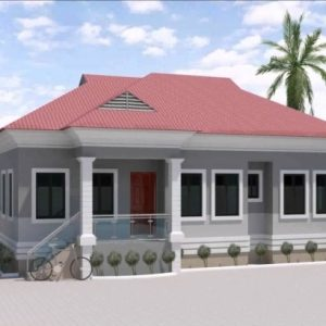 3 Bedroom Flat Bungalow Plan In Nigeria