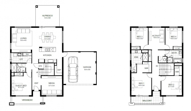Inspirational 5 Bedroom House Designs Perth | Double Storey | Apg Homes 5 Bedroom House Plans Photo