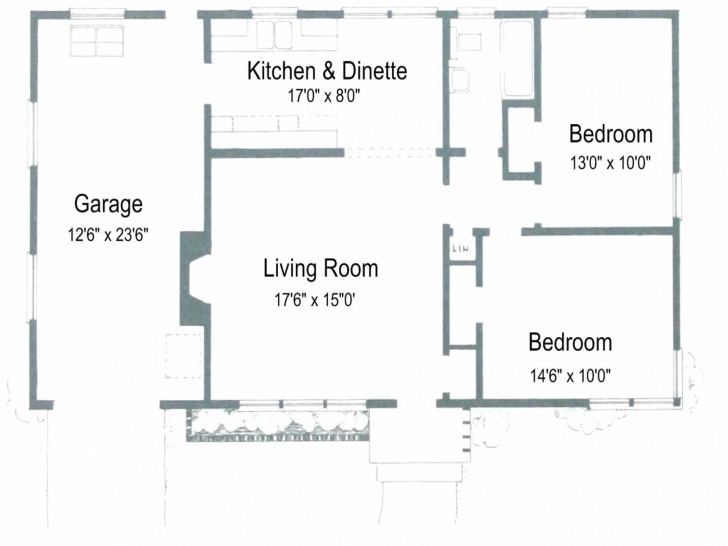 Inspirational House Plan Drawing 2 Bedroom Pictures Bath Car Garage Plans Plan And Drawing 2018 Image