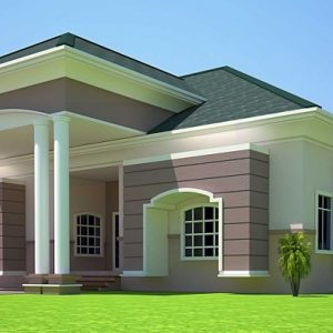 Ghana House Plan Picture