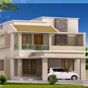 Simple Filipino 2 Storey House Design