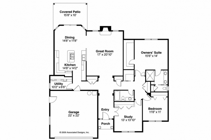 Inspirational Traditional House Plans - Porterville 30-695 - Associated Designs 10×30 Home Design Image