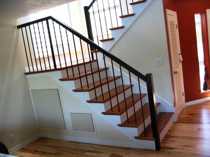 Inspirational Wrought Iron Stair Railing Photo — New Home Design : Elegance And Siri Iron Railing Picture