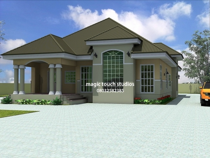 Inspiring 5 Bedroom Bungalow House Plans 5 Bedroom Bungalow Floor Plans In House Designs And Floor Plans In Nigeria Pic