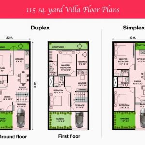 15 X 50 House Map In India