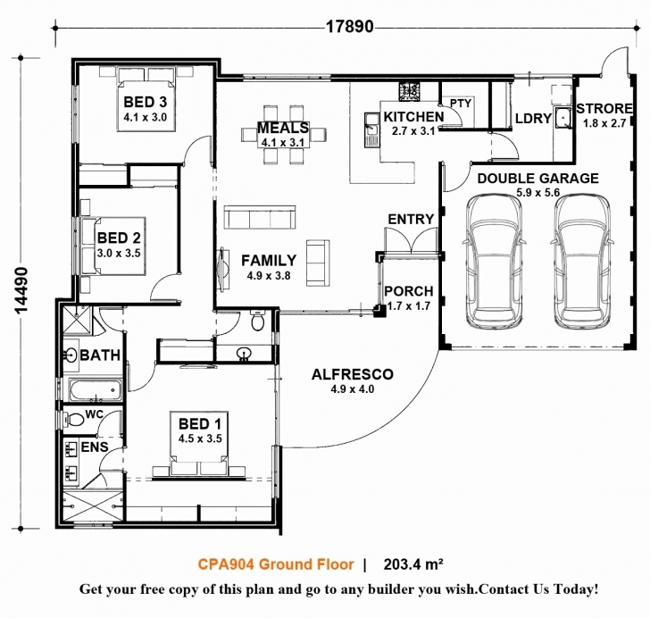 Inspiring Awesome 3 Bedroom House Plans Pdf Free Download South Africa - House Free House Plans Download South Africa Photo