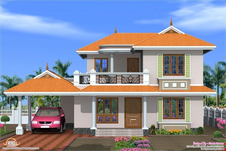 Inspiring Bedroom Kerala Model House Design Home Floor Plans - Building Plans New House Model Kerala Image
