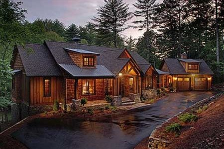 Luxury Rustic Mountain Home Plans