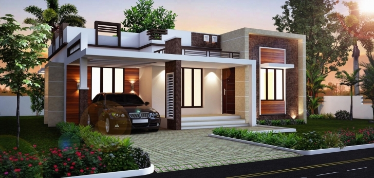 Inspiring Flat Roof House Plans Nice Carports 2 Bhk House Plan 2 Bedroom House 2 Bedroom Flat Roof House Plans Image