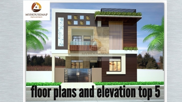 Inspiring Floor Plans | Elevation | 25*50 Ft | 30*40 Ft | 30*59 Ft | 30*60 Ft Home Design 15*50Ft Image