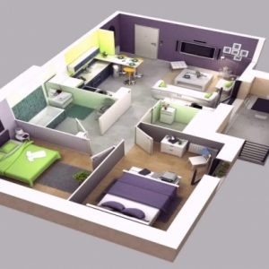 House Plan 3D Images