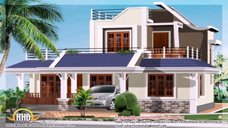 Inspiring Kerala Style House Elevation Design - Youtube Kerala House Elevation Pictures Image