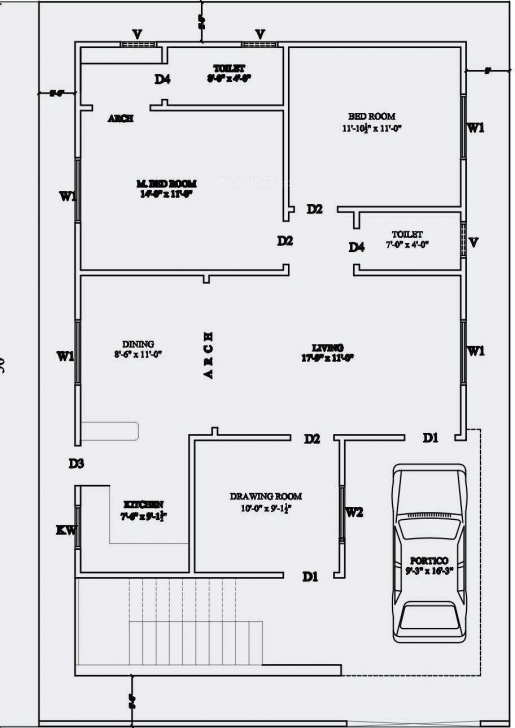 Inspiring Remarkable Sq Ft Floor Trends Including Beautiful 1000 House Plans 1500 Sq Ft House Plan With Car Parking Photo
