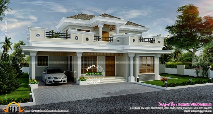 Inspiring Stylish House Exterior - Kerala Home Design And Floor Plans Kerala House Planners In Abu Dhabi Photo