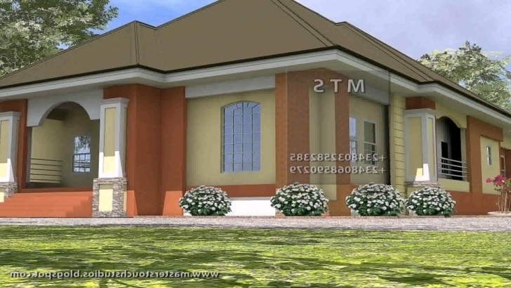 Inspiring Three Bedroom Bungalow House Plans In Kenya - Youtube Three Bedroom Bungalow Photo