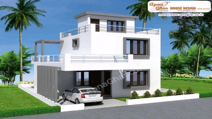 Interesting 20 X 60 Duplex House Plans - Youtube 20*60 Duplex House Elevation Photo