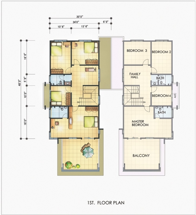 Interesting 20×60 House Plans | Theworkbench 1200 Sq Ft House Plan 20×60 Pic