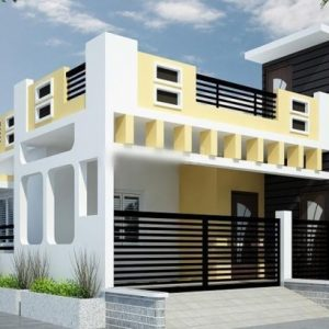 Single House Elevation Design