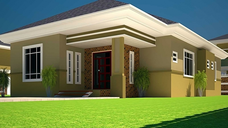 Interesting 3 Bedroom House Plans On Half Plot Of Land Luxury Nigeria Building Three Bedroom Plan On Half Plot Of Land In Nigeria Image