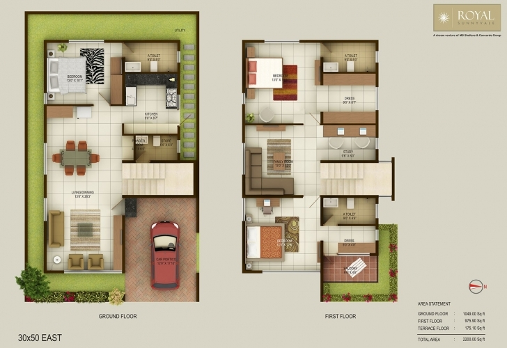 Interesting 40 X 40 Duplex House Plans Best Of Amusing 20 30 House Plans North 20*30 Duplex House Plans 3D Picture