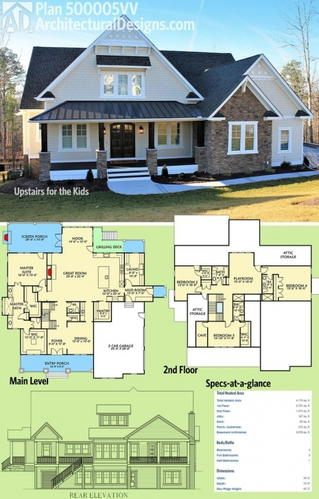 Interesting 4734 Best Home Floorplan Images On Pinterest | House Floor Plans 4 Bed Room Buildings Picture