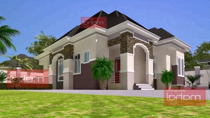 Interesting 5 Bedroom Bungalow House Plans In Nigeria - Youtube Nigerian House Plans For Sale Photo